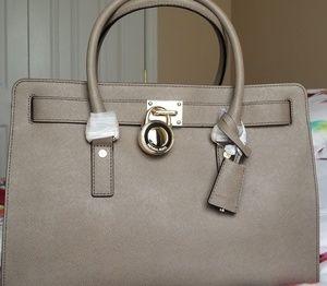 Michael Kors Bags - Michael Kors grey gray handbag crossbody purse NWT